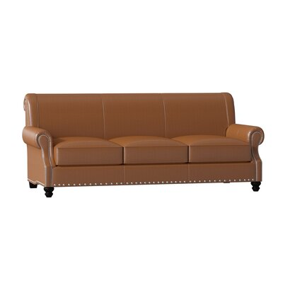 Standard Leather Sofas You Ll Love In 2019 Wayfair