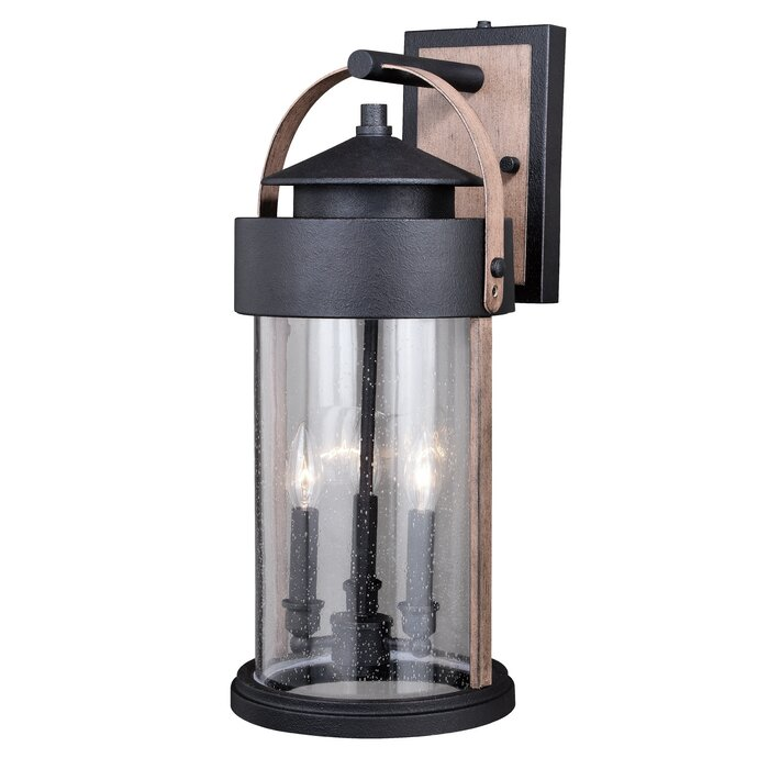 Ziegler 3 Light Outdoor Wall Lantern