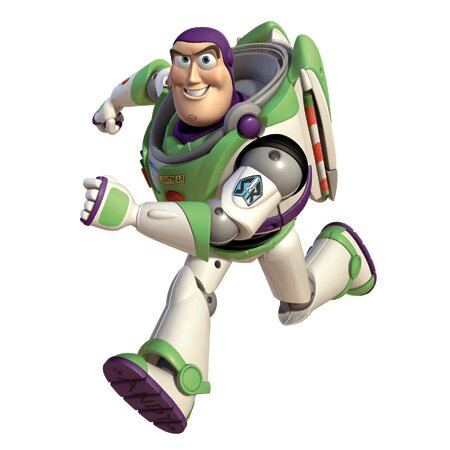 Toy Story Buzz Giant Wall Decal Part 70