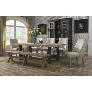 Lorna Wood Dining Table by Lark Manor