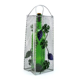 Gift Bag, Grapes 1 Bottle Tabletop Wine Rack Comparison