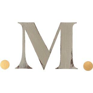 Monogram initials wall decor wayfair personalized initial wall dcor spiritdancerdesigns Images