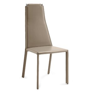 Cliff Genuine Leather Upholstered Dining Chair (Set of 2) by Domitalia