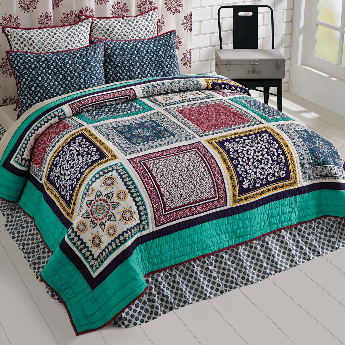 Foyer Window Quilt : August grove sheldon quilt set wayfair