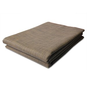 MultiIndoor/Outdoor Rug Wicker Brown Indoor/Outdoor Area Rug