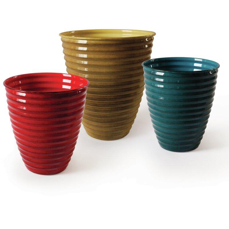Robert Allen Home And Garden Avondale Venti Ironstone Pot Planter Reviews Wayfair