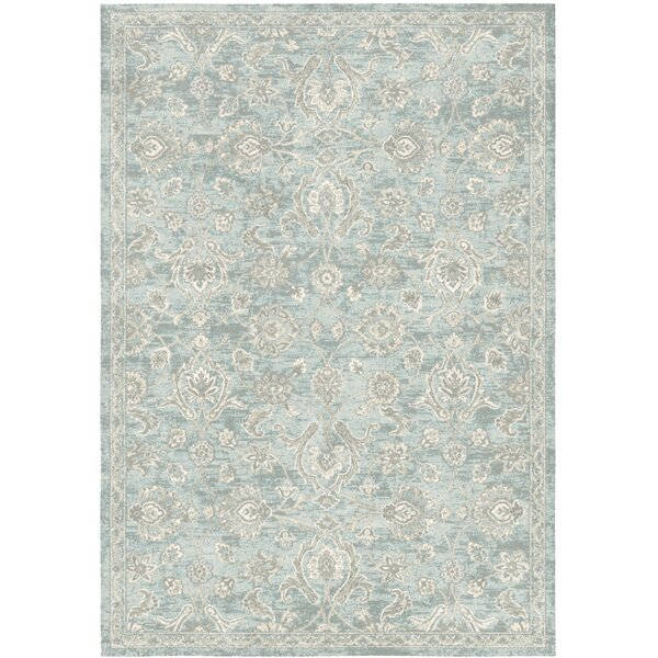 One Allium Way Tremont Low Pile Tradition Blue Rug