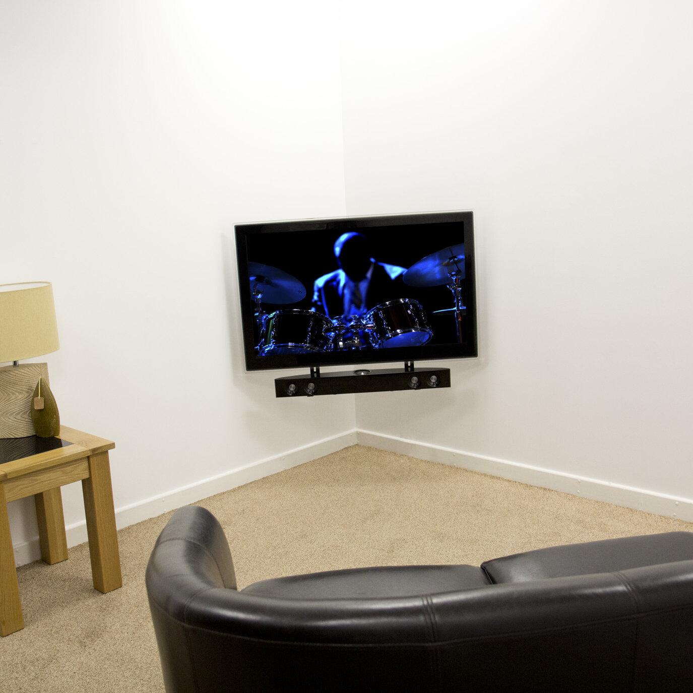 Avf Universal Soundbar Wall Mount For Flat Panel Screens Wayfair