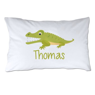 4 Wooden Shoes Personalized Alligator Pillow Case