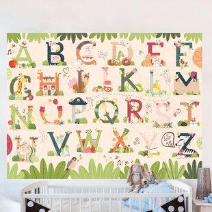 Sweet ABC By Sofia Cardoso Wall Decal