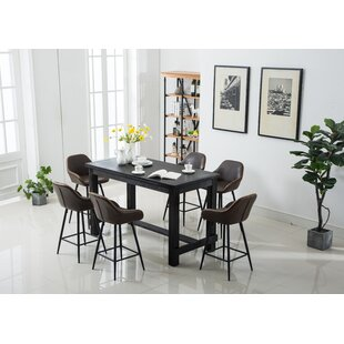 Shoemaker 7 Piece Counter Height Dining Set Looking for