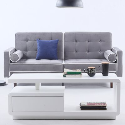 Madison Home USA Mid Century Modern Convertible Sofa | Wayfair