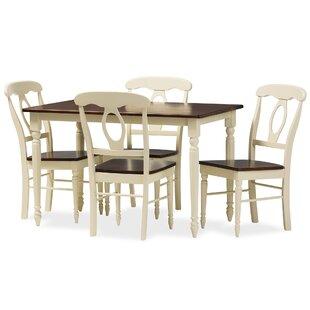 Delmi 5 Piece Dining Set