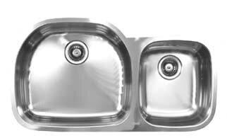 38   x 20 5   double bowl undermount kitchen sink ukinox 38   x 20 5   double bowl undermount kitchen sink  u0026 reviews      rh   wayfair com