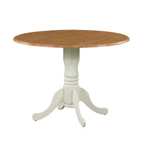 Neihart Drop Leaf Solid Wood Dining Table