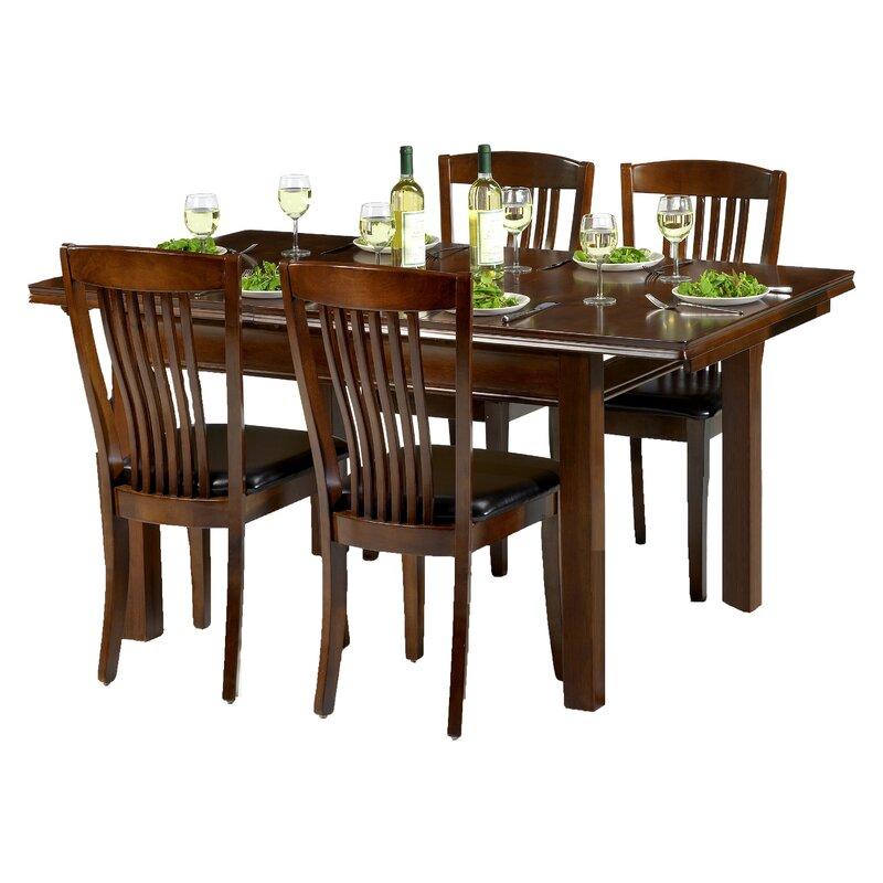 ClassicLiving Essgruppe Remsen Mit Ausziehbarem Tisch Und