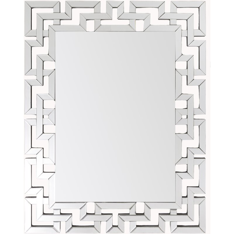 Willa Arlo Interiors Glam Rectangular Accent Wall Mirror Reviews