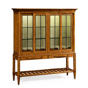 Glazed Double Lighted China Cabinet