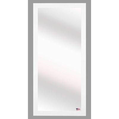 Brayden Studio White Beveled Vanity Wall Mirror Size: 59 H x 20 W x 0.75 D