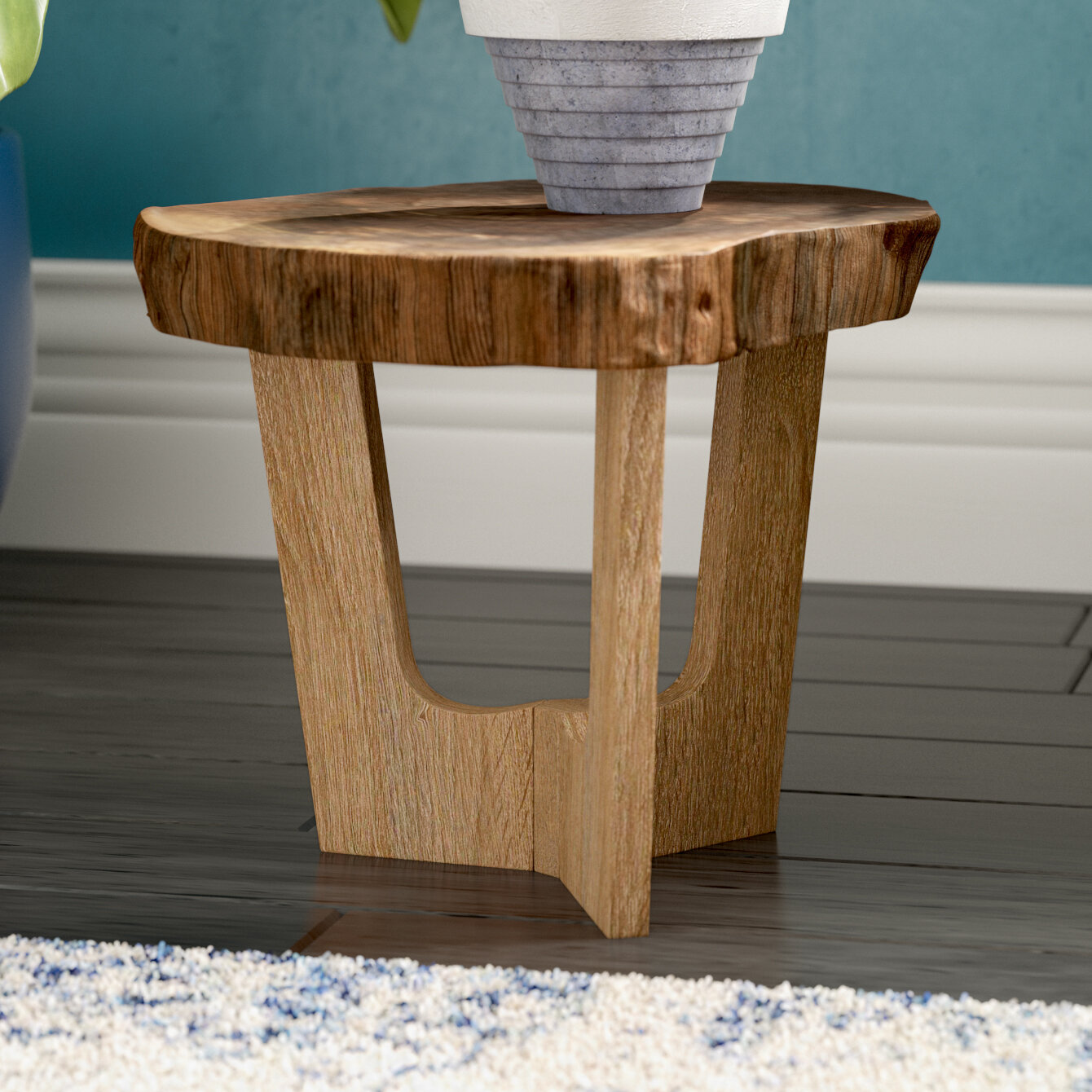 Mistana Hatfield Pedestal Plant Stand U0026 Reviews | Wayfair