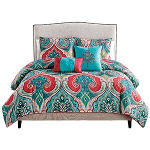 Fleau 5 Piece Reversible Comforter Set