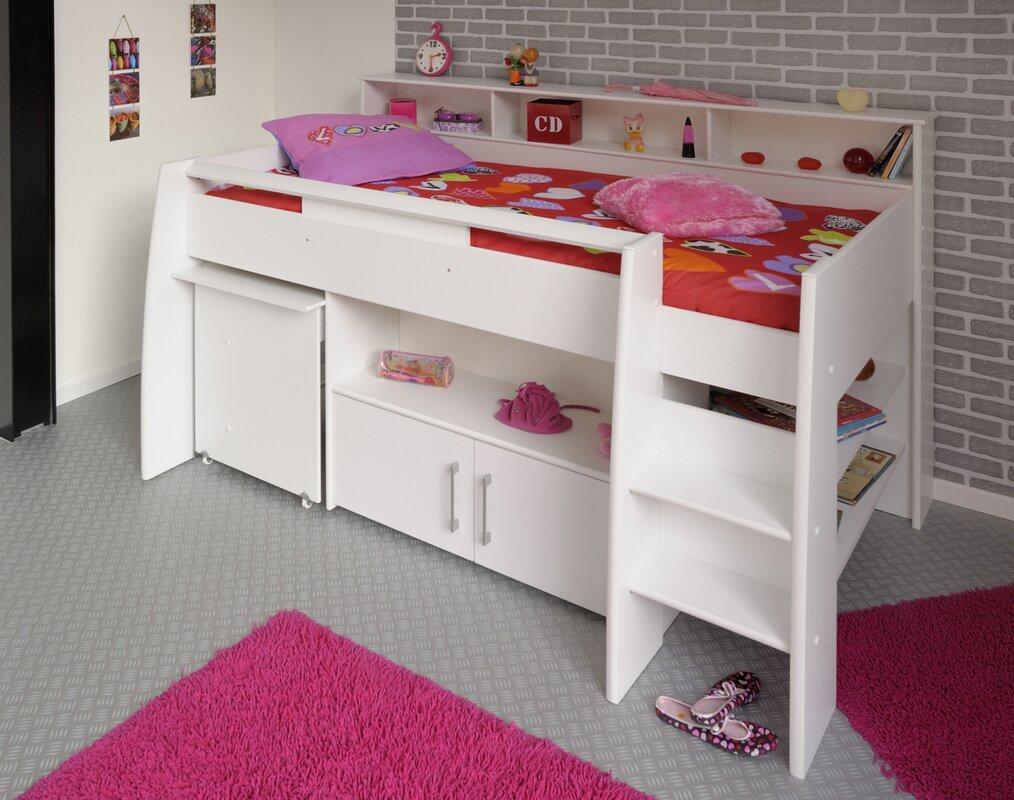 Nicela Mid Sleeper Bed With Storage
