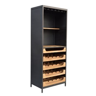 Jeanlouis Teak 16 Bottle Floor Wine Rack