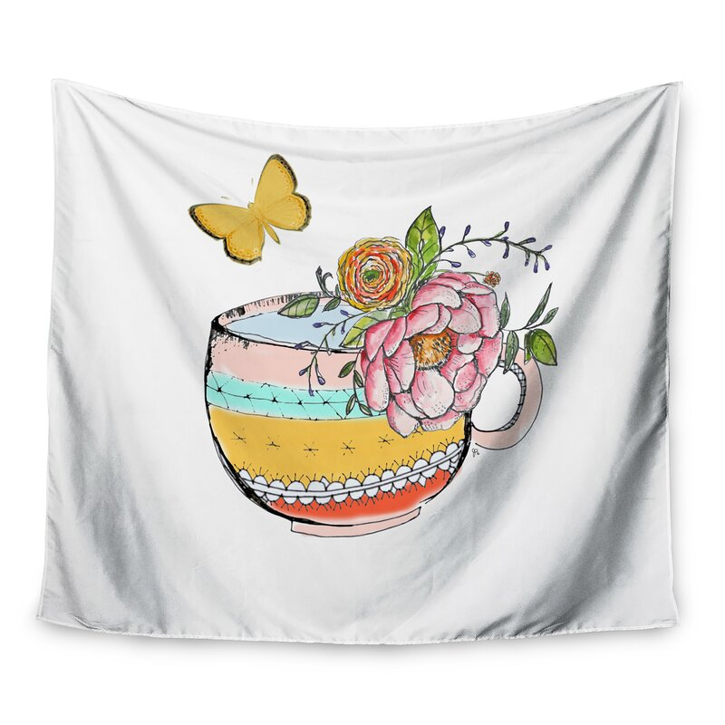 East Urban Home Tea Cup Vase By Jennifer Rizzo Wall Tapestry Wayfair