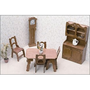 Where to find dollhouse furniture Diy Dollhouse Dining Room Furniture Kit By Greenleaf Dollhouses Ebay Miniature Dollhouse Furniture Wayfair