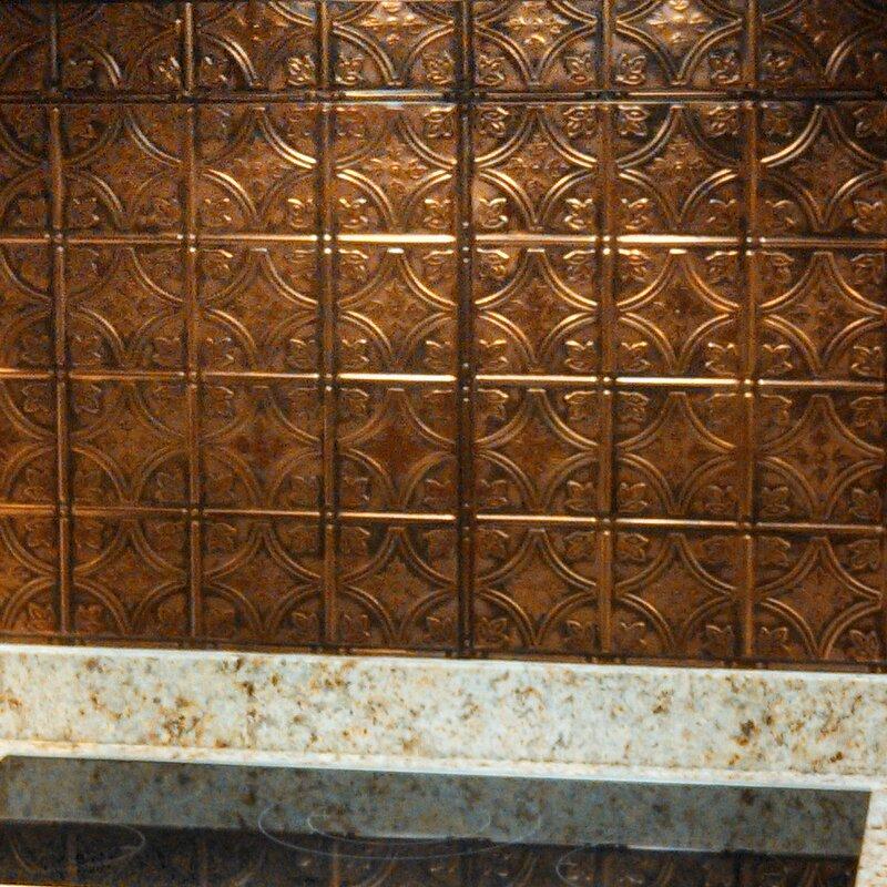 Metal Backsplash quotes House Designer kitchen