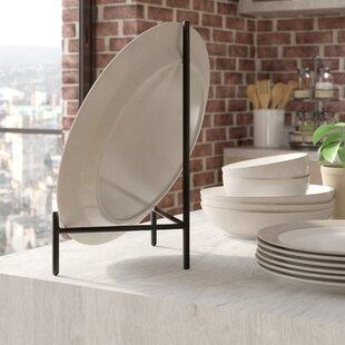 Graphite Metal Plate Rack & Decorative Plate Rack | Wayfair