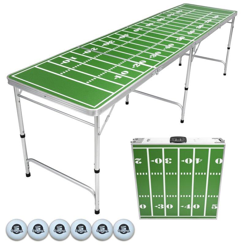 Gopong Portable Tailgate Pong Table Amp Reviews Wayfair