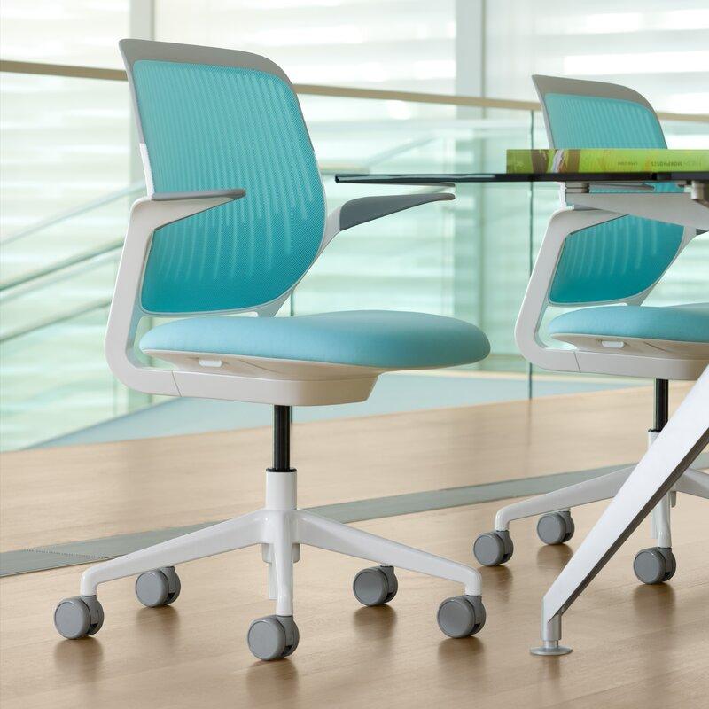 steelcase cobi mid-back desk chair & reviews   wayfair