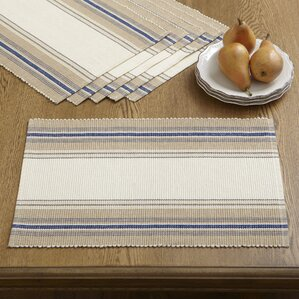 cece striped placemats set of 6