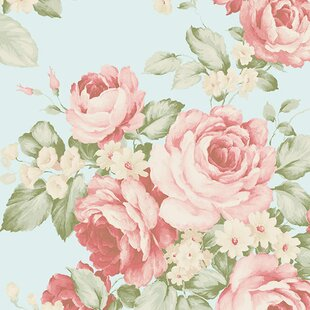 Floral botanical wallpaper youll love wayfair save mightylinksfo