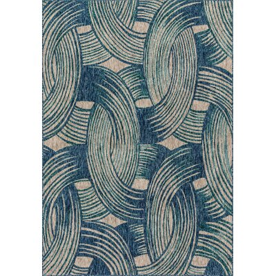 Bay Isle Home Summerfield Blue  Area Rug Rug Size: Rectangle 7'10 x 10'9