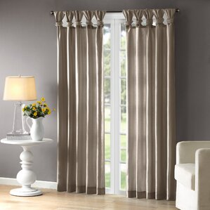 living room curtains and drapes. Rivau Solid Room Darkening Tab Top Single Curtain Panel Curtains  Drapes You ll Love Wayfair