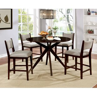 Goza 5 Piece Pub Table Set