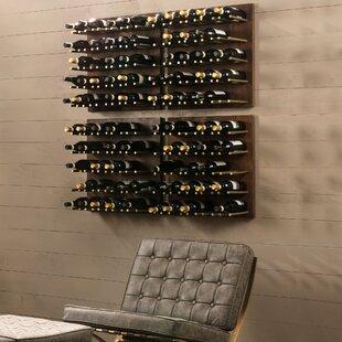 Alsace 25 Bottley Wall Mounted Wine Bottle Rack