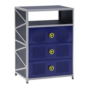 Dune Buggy 3 Drawer Chest by Powell Furniture