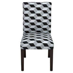 Mroz Marble Cube Parsons Chair