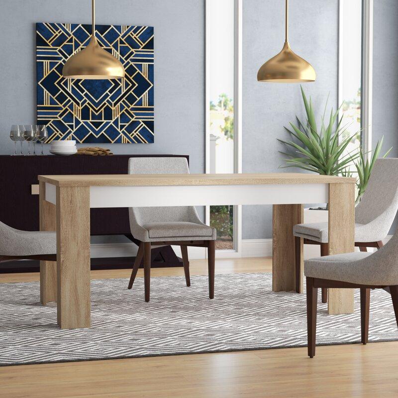 Algedi Dining Table Amp Reviews Allmodern