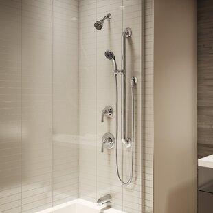 Slide Bar Shower Faucets Youu0027ll Love | Wayfair
