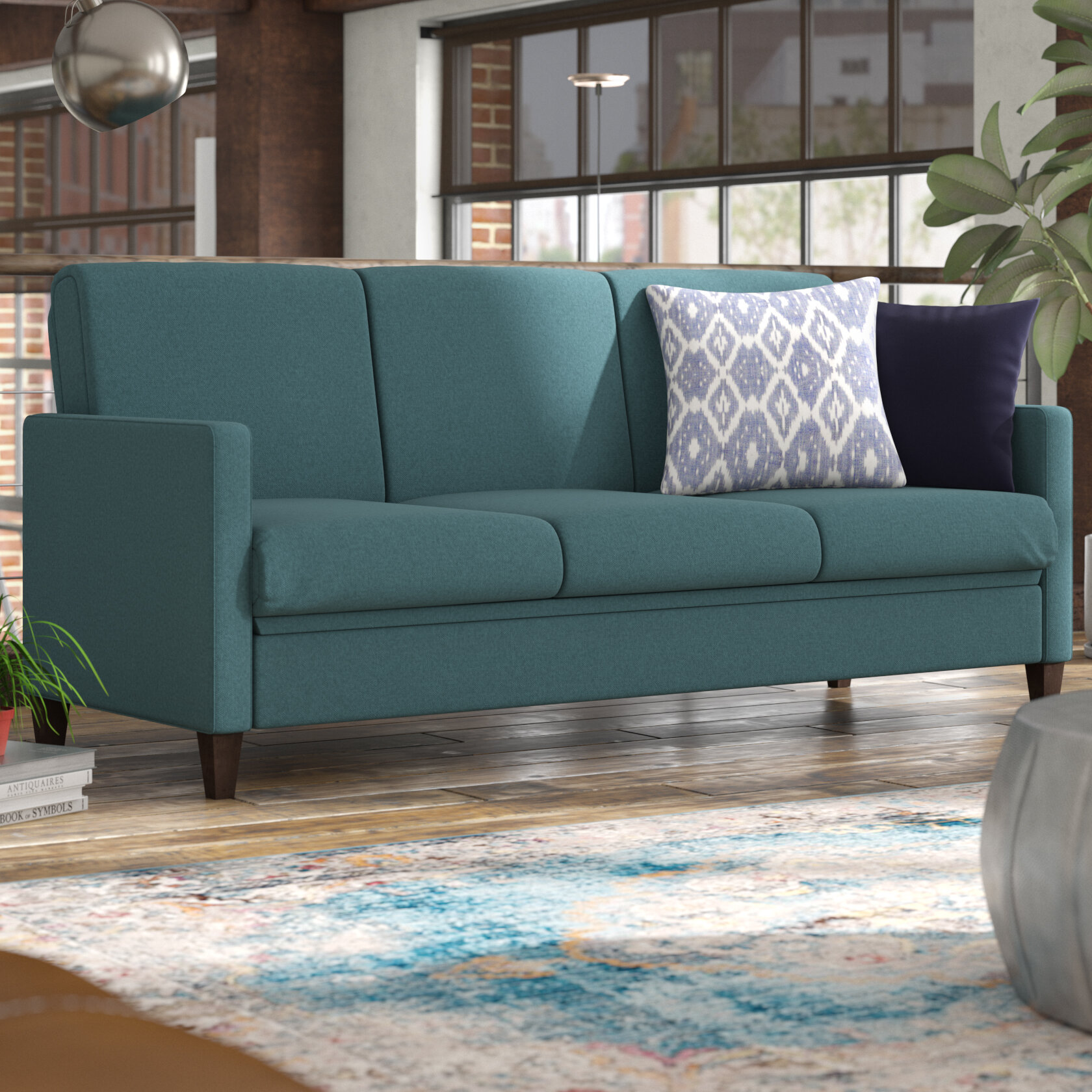 Trent Austin Design Glacier Bay Convertible Sofa U0026 Reviews | Wayfair