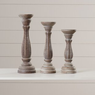 Large Pillar Candle Holders Wayfair