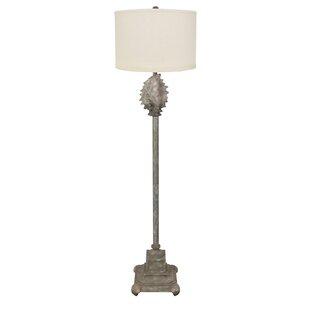 High Quality Brannan Shell 67u0027u0027 Floor Lamp