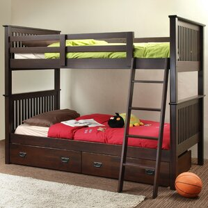 Jace Twin Bunk Bed by Chateau Imports