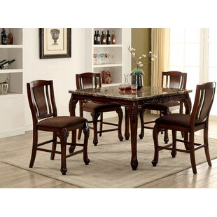 Dominey 5 Piece Counter Height Dining Set