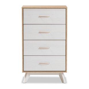 Modern Contemporary Mid Century White Dresser Allmodern