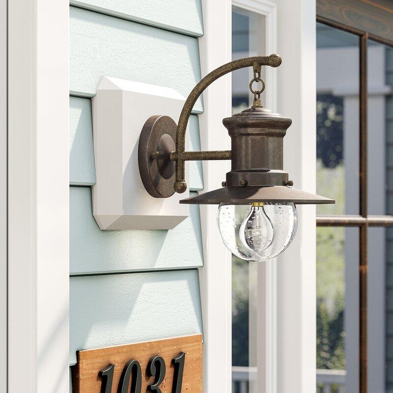 Goodyear 1 Light Outdoor Barn Light: Beachcrest Home Acklins 1-Light Outdoor Barn Light